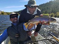 Gallatin River Guided Fly Fishing